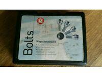 Wheel locking kit
