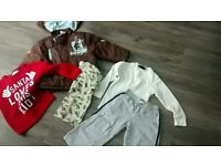 Boys clothes bundle age 3-4 years 7 items