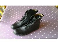Lady's army cadet boots