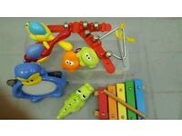 Collection of baby/toddler instruments