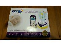 BT Baby Monitor 350 BNIB