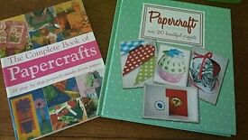 2 paper making and paper craft books