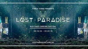 Lost paradise ticket + car pass Dee Why Manly Area Preview