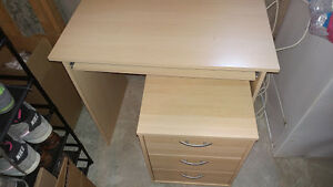 Desk and File Cabinet for Sale