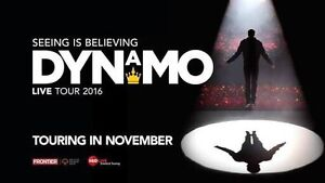 DYNAMO tickets for sale. Great seats for face value Perth Perth City Area Preview