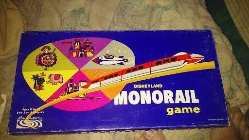 1960 Disneyland Monorail Unplayed