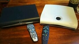 Two Sky TV boxes - Sky+HD and Sky