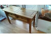 mexican pine dressing table