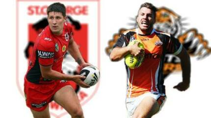 Two Adult Ticket's Round 26 St George Illawarra Vs West Tiger's Parramatta Area Preview
