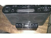 Sony iphone docking station system XDR-DS12iP