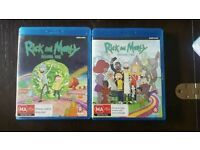 Rick and Morty Seasons 1 & 2 Bluray