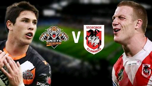 Wests Tigers vs St George Dragons 2 Adult Tickets $15 each Sydney City Inner Sydney Preview