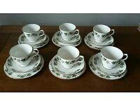 18 piece Vintage Bone China Tea Set