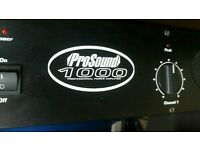 Amplifier for studio or home recording