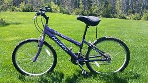 Girls used Blackwater Huffy ATB 18 speed bicycle $60 obo