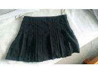 Warehouse pleated mini skirt size 10