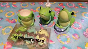 Brand New Frog Bathroom Acessories