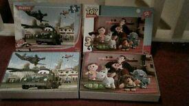 Two Disney puzzles