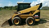 FOR SALE Cat 268B Two speed high flow