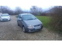 Chevrolet Kalos. Low Mileage