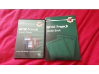 CGP GCSE French Vocab book and DVDrom tester