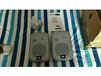 Speakers JBL Control One Monitor Speakers in Silver