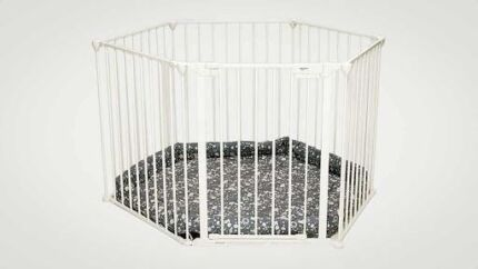 Childcare Universal Hearth Gate Playpen plus extensions - huge! Winthrop Melville Area Preview
