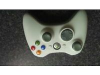 xbox 360 white wireless controller
