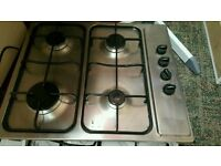 Kitchen worktop hob