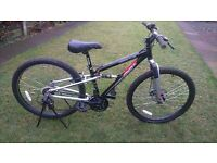 "Childs / adults mountain bike 26"" wheels ,14"" frame"
