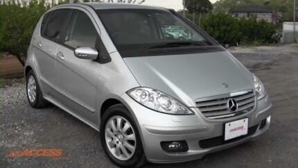 2005 Mercedes-Benz A170 Brunswick East Moreland Area Preview