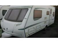 Abbey 517GTS Vogue Touring Caravan 2005