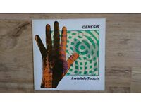 Genesis Invisible touch vinyl