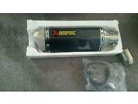 Akrapovic carbon exhaust YZF R125