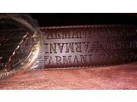 Armani belt