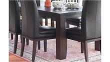 Quality dining table and chairs from Harvey Norman Karratha Roebourne Area Preview