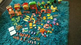 Huge bundle of Dora the Explorer duplo