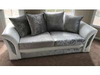 FABRIC/CRUSH VELVET*SHANN0N SOFA* LUXURY SOFA CHEAPEST PRICE a3+2/Corner sofa 928