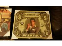 Scarface Al Pacino Framed Pictures