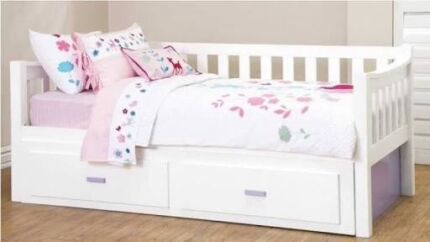 Trundle bed frame, Melody King Single