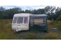 Swift Silhouette Diamond 2 Berth Caravan with full Awning & All Accessories Needed