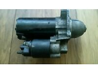 Bmw bosh starter motor Space saver fits xtype and mondeo
