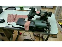 Bellow Blind Seamer / Feller sewing machine for Curtains and clothes
