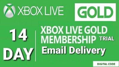 Xbox Live Gold 14 Day / 2 Week Trial - Fast Email Delivery