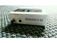 Audio 4 dj interface traktor scratch