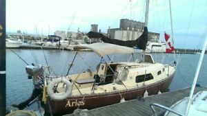 Grampian 26 Sailboat in excellent shape ready to sail