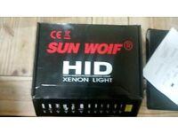 Sun wolf hid xenon kit