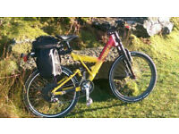 Electric cannondale super v800 mountain bike