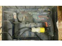 Bosch professional SDS hammer drill 110v