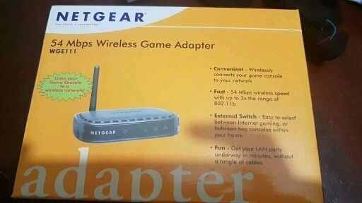 Netgear 54Mbps Wireless Adaptor Bridge Can Be Used For Sky On Demand